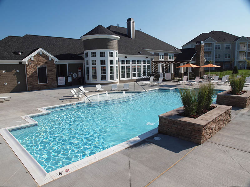 Commercial Swimming Pools · Custom Gunite Spas