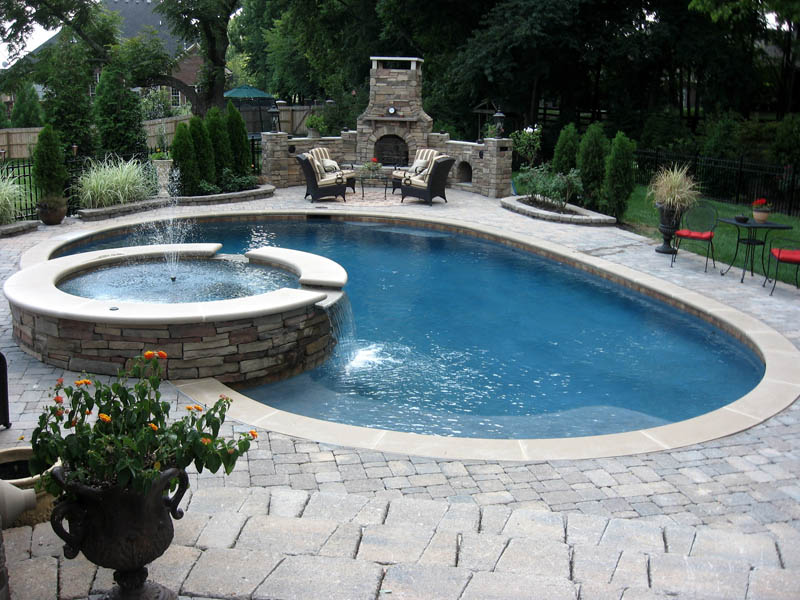 Gunite Swimming Pool Designs Fair Gunite Pool Designs  Mid American Gunite Pools Decorating Design