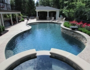 custom gunite spas