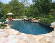 natural gunite pool