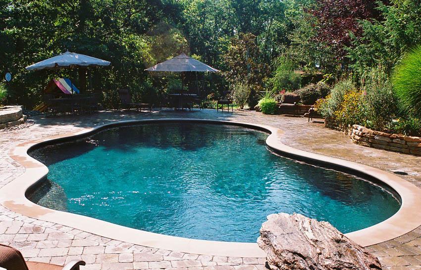 Lagoon Pools Mid American Gunite Pools