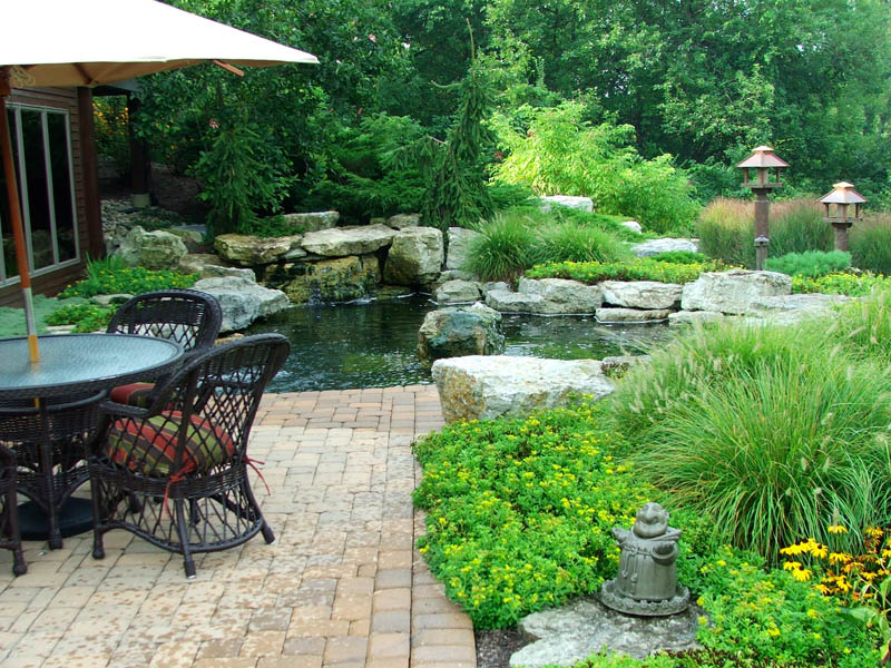Natural Pools Mid American Gunite Pools