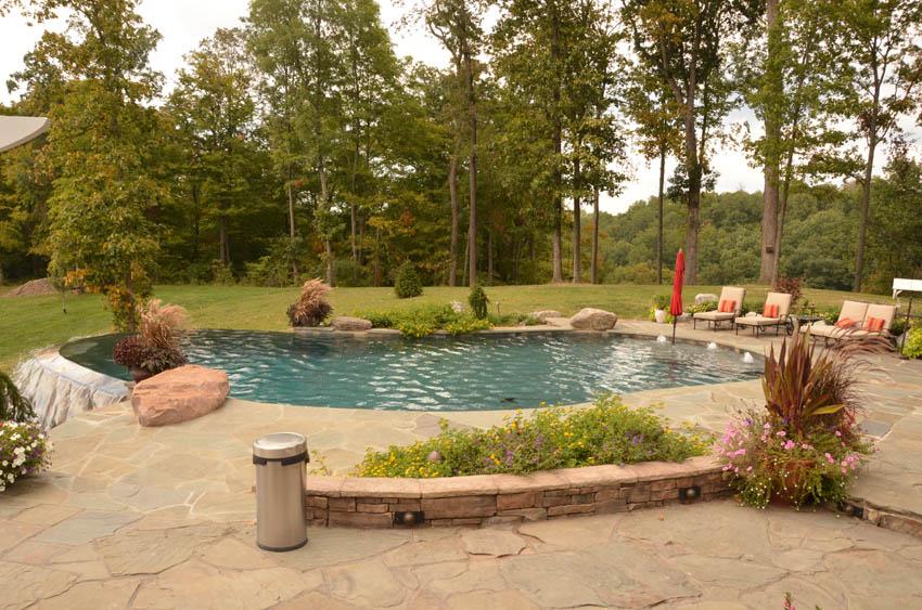Vanishing Edge Pools Mid American Gunite Pools