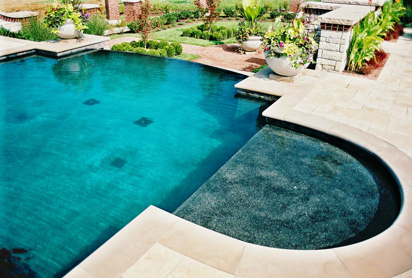 Vanishing Edge Pools Mid American Gunite Pools