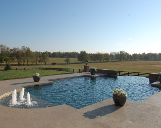 Custom Design Gunite Pool U0026 Spa Builders | Cincinnati, Lexington ...