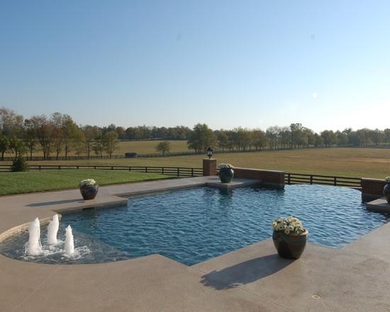 Custom Design Gunite Pool Spa